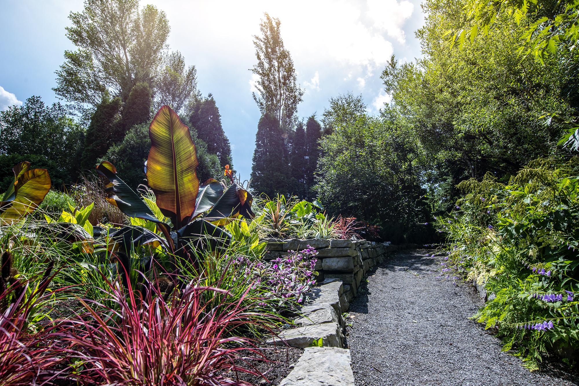 jardin universitaire roger van den hende fsaa